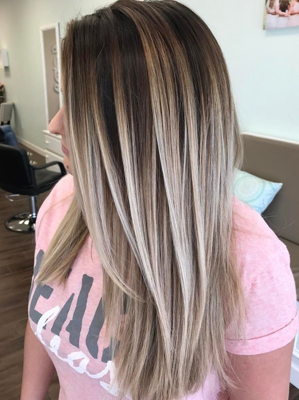 70 Flattering Balayage Hair Color Ideas For 2020 Balayage Straight Hair Hair Styles Hair Painting