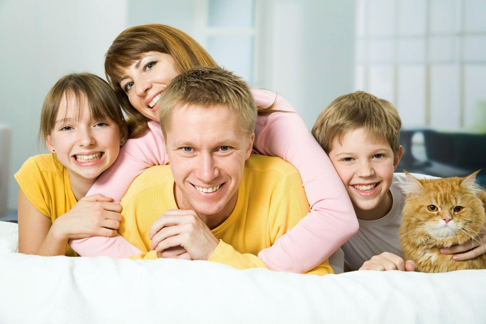 интересные картинки о детях и семьях
