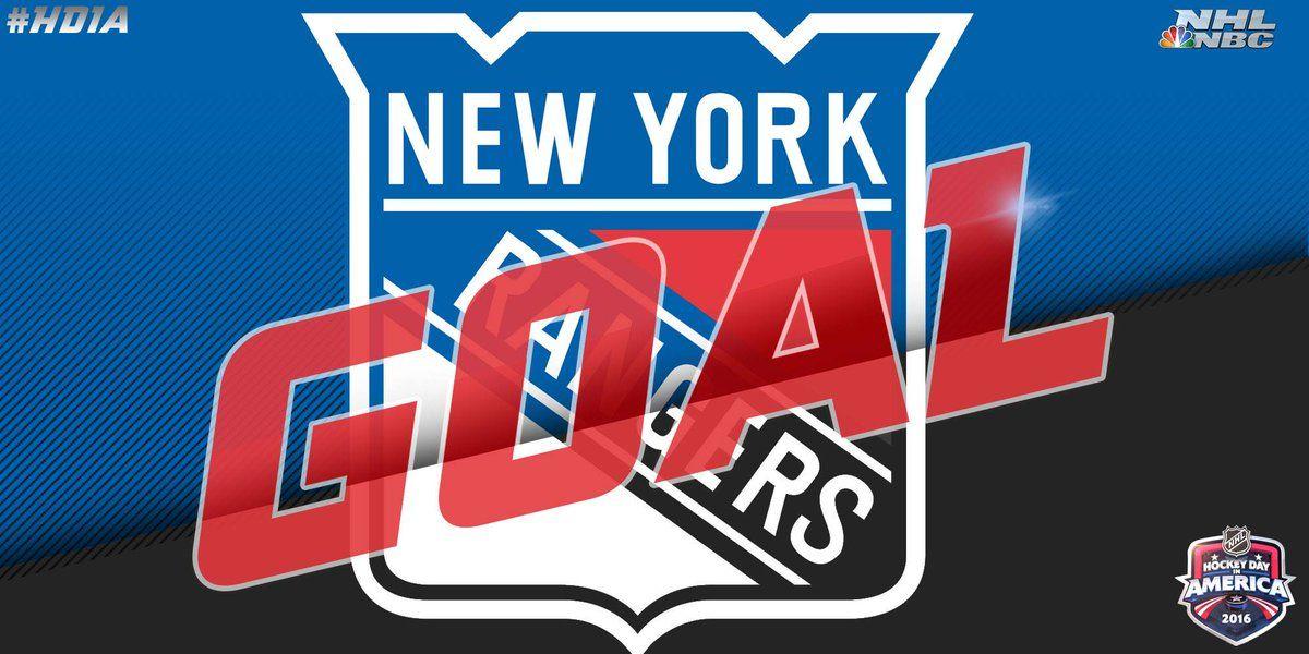 GOAL! NYRangers WIN! HDIA Rangers hockey, Nbc, Nhl