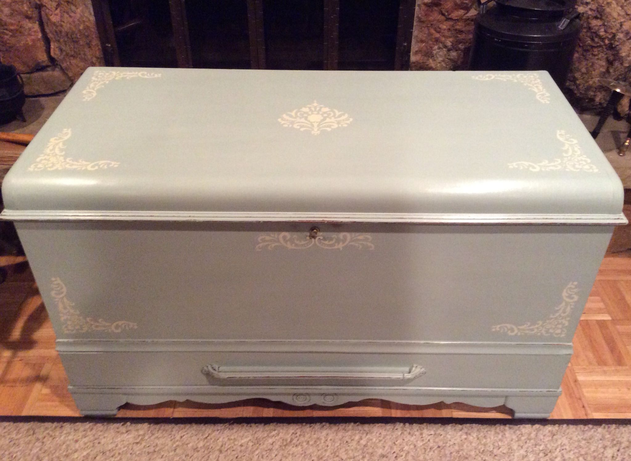 Painted Chest Trunk Annie Sloan