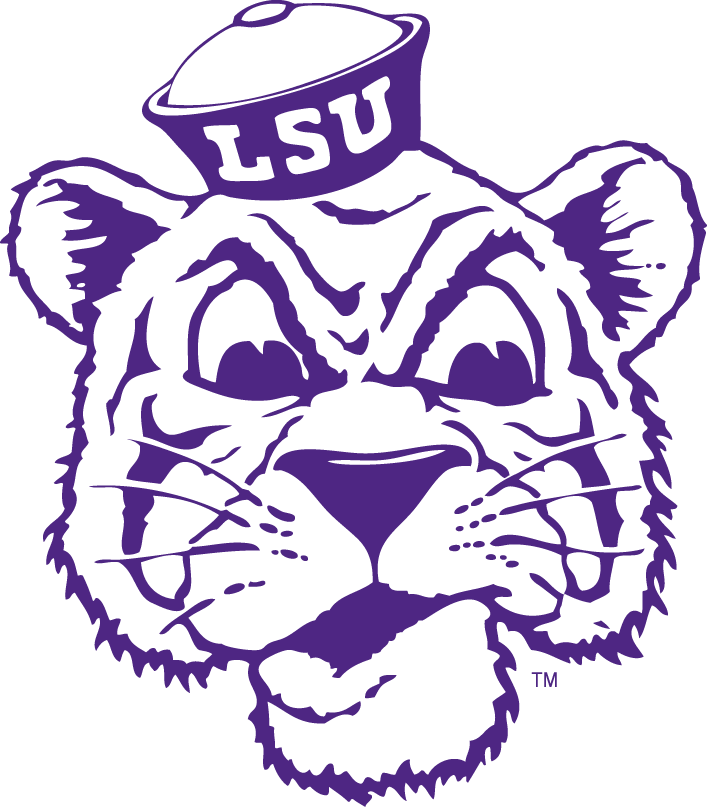 lsu tigers logos silhouette alternate tiger football louisiana sportslogos svg sports clipart vinyl 1956 state university clip baseball geaux designs