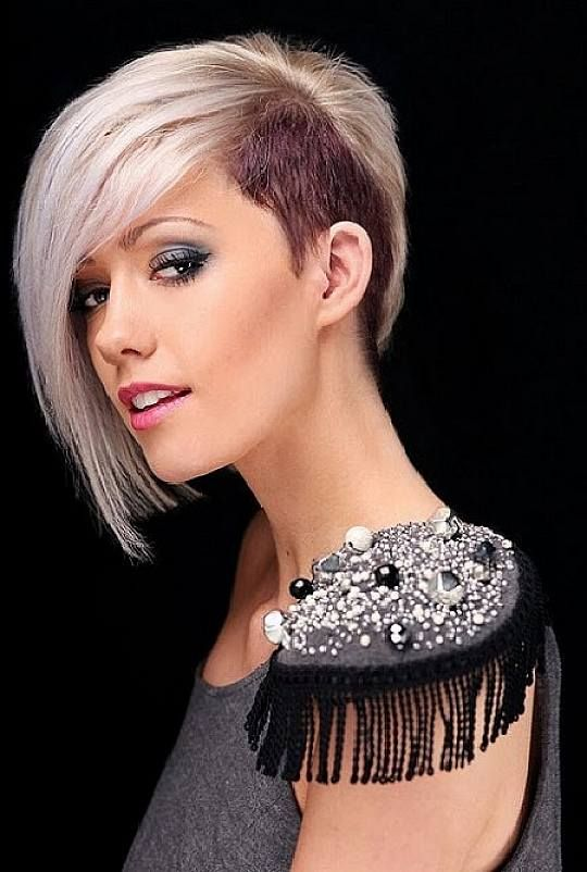 Cool Girl Hairstyles Stylish Girls And Women Hairstyles Acelebritynews Punk Haircut Short Punk Haircuts Half Shaved Hair