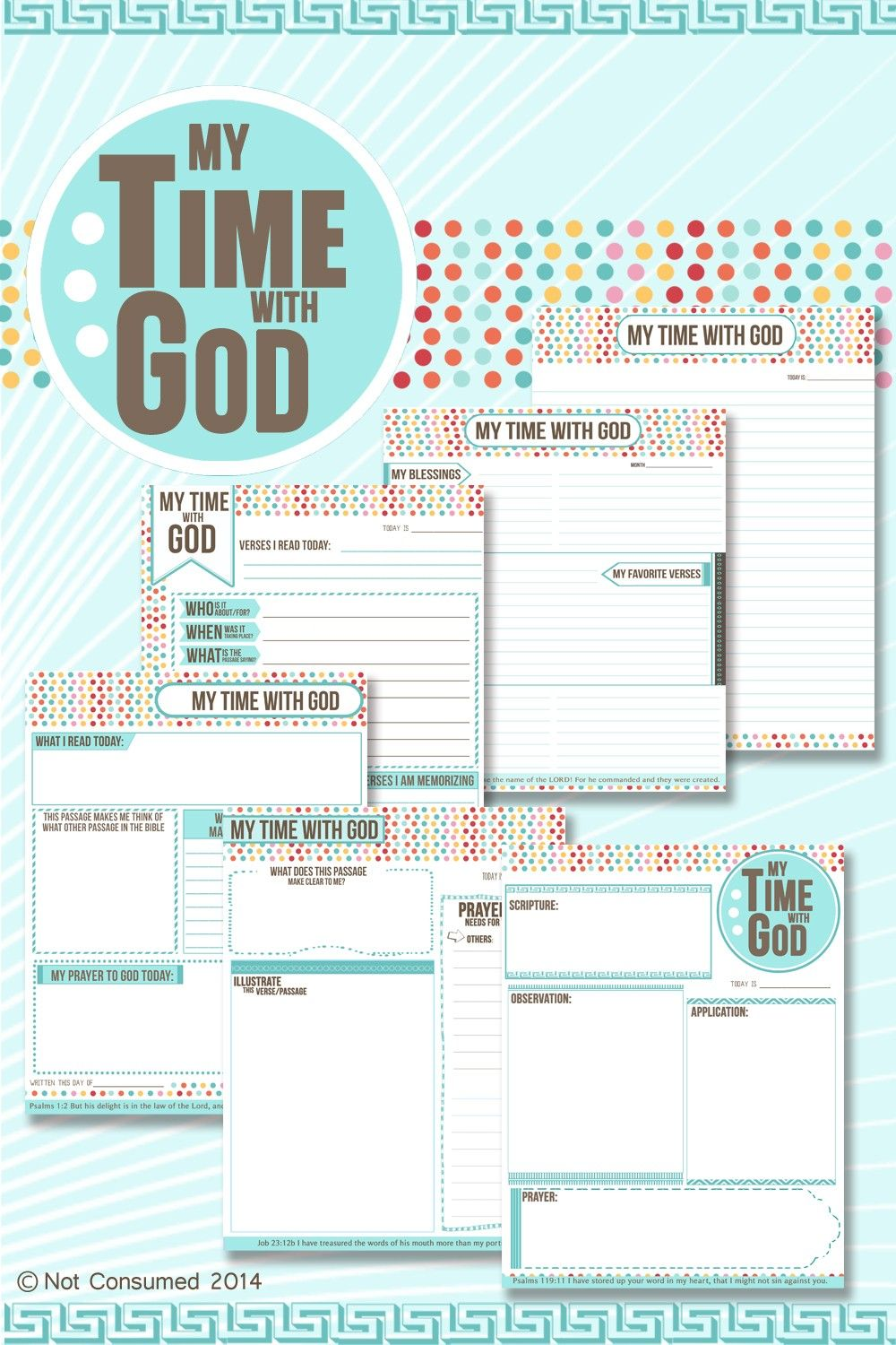 Quiet Time Journal for Kids | Bible Lessons for Kids ...