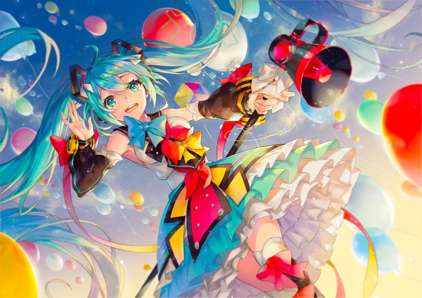 11thおめでとう!!*ଘ(੭*ˊᵕˋ)੭* ੈ ‧₊˚ 初音ミク生誕祭2018(画像あり) 祭 イラスト