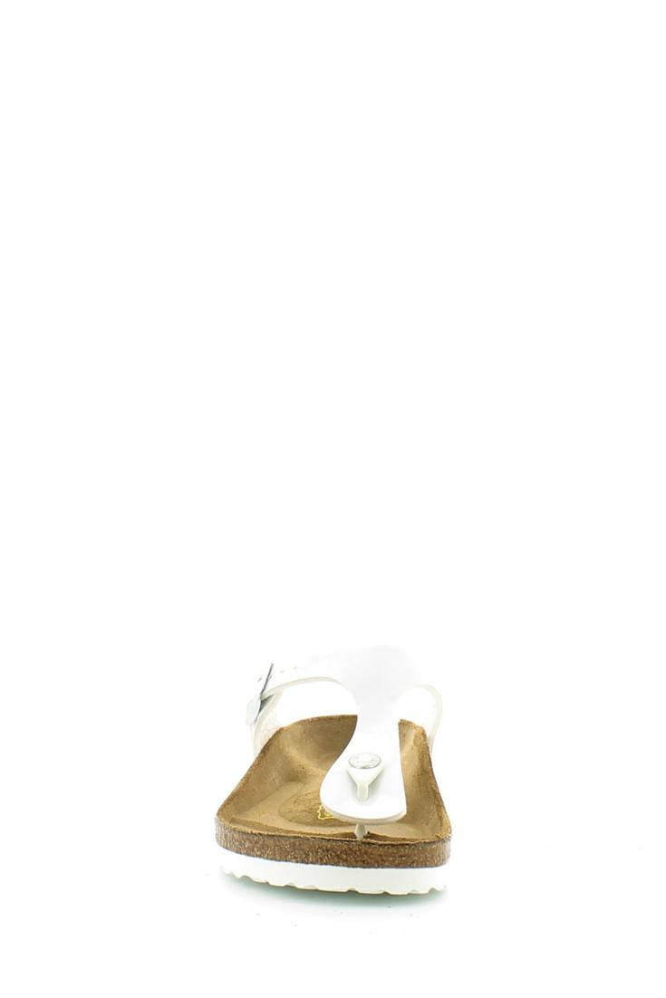 """Infradito modello """"Gizeh"""" con cinturino , fondo soft footbed tipico, anatomico e ammortizzato! Buy them on: http://www.langolo-calzature.it/it/bambina/ciabatte-e-infradito/ciabatta-infradito-gizeh-bianco"""