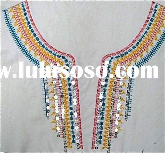 Hand embroidery designs for neck google search necking
