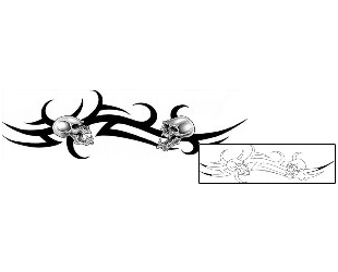 Show details for Skull Tattoo CIF-00094