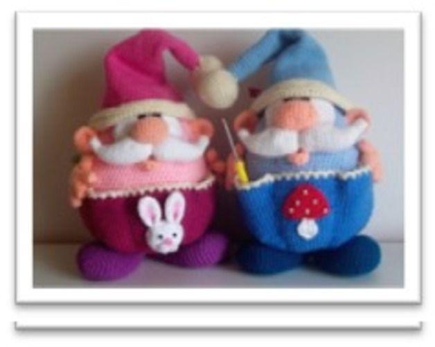 Crochet - Amigurumi XL, auxiliar obesos Imp, patrón de crochet - una pieza de diseño de Mala diseña en DaWanda