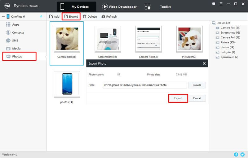 export oneplus 6 photo folder to pc | #Xiaomi | Photo folder
