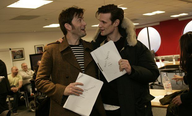 Steven Moffat: 'Matt Smith had a plan for him and David Tennant to both continue in Doctor Who'