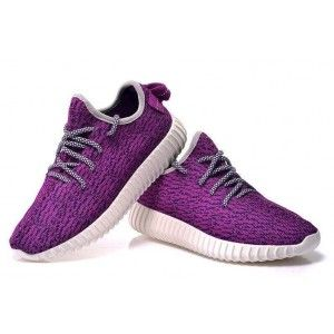 Adidas Yeezy Boost 350 Low purple white shoes for womens