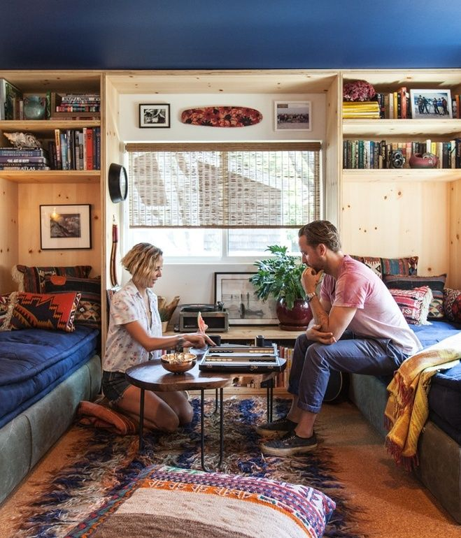 Mobile Homedecorating: Colorful Malibu Mobile Home Makeover