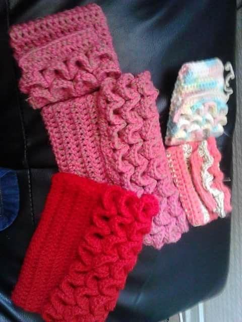 Monederos y estuche, tejido a crochet tejidos creaciones propias