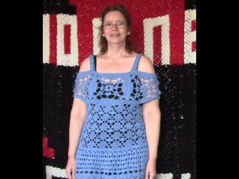 Haken Tutorial Granny Square Zomertrui Youtube Crochet Tops
