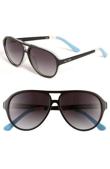 d3bff86328c8 TOMS 'Marco' Aviator Sunglasses available at #Nordstrom | My Style ...