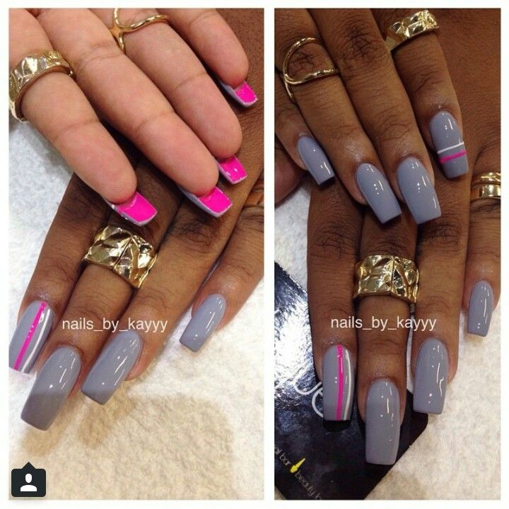 Laque Nail Bar: LOVE The Pink Underneath!