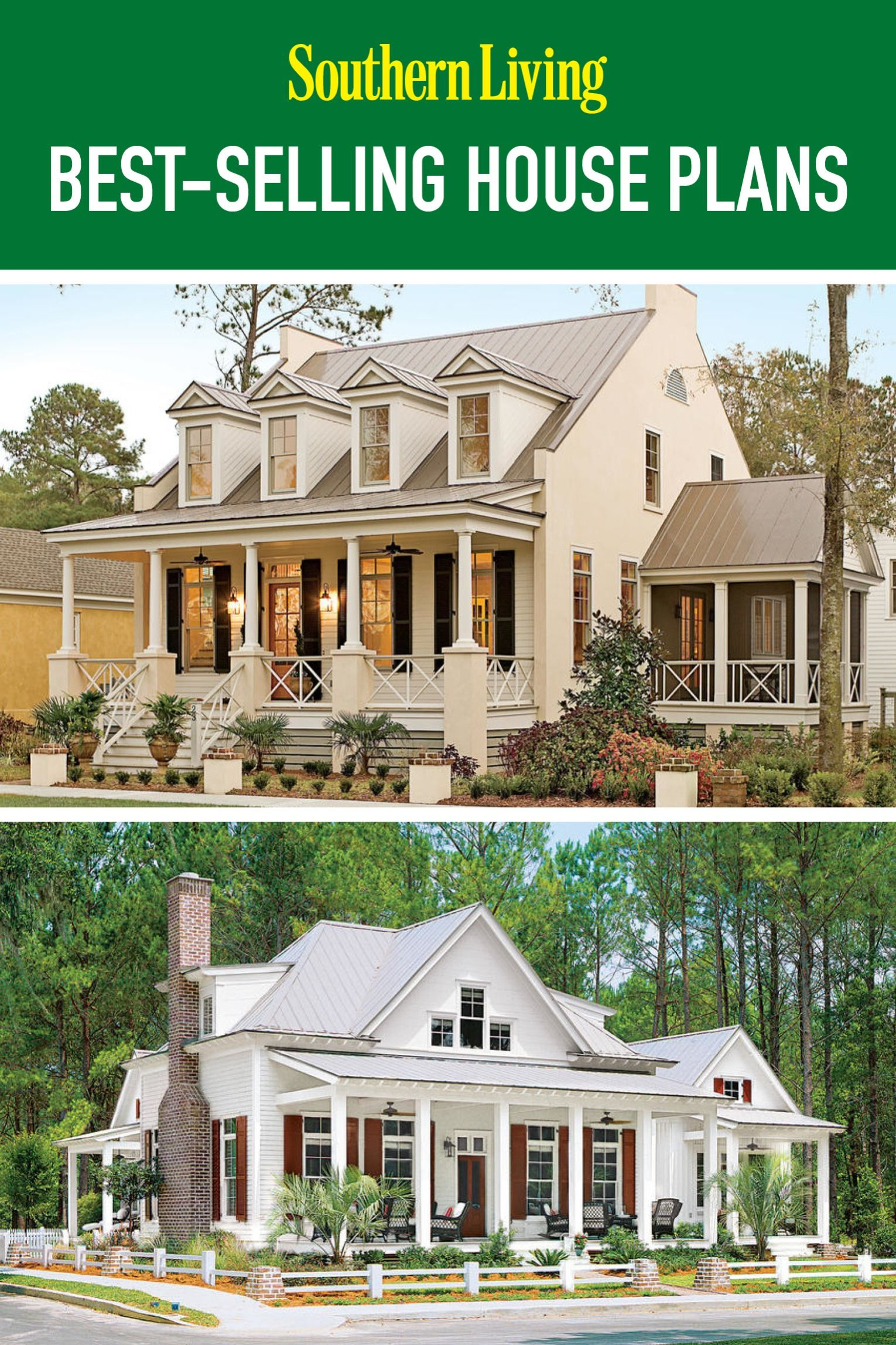 Top 12 Best Selling House Plans Southern House Plans Southern Living House Plans Carriage House Plans