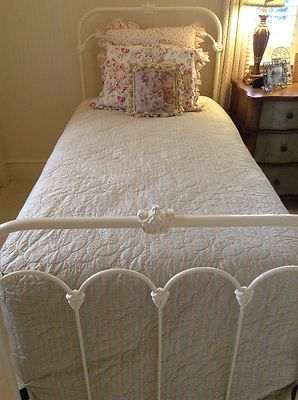 Twin Iron Bed By Wesley Allen Hillsboro Series In Antique White