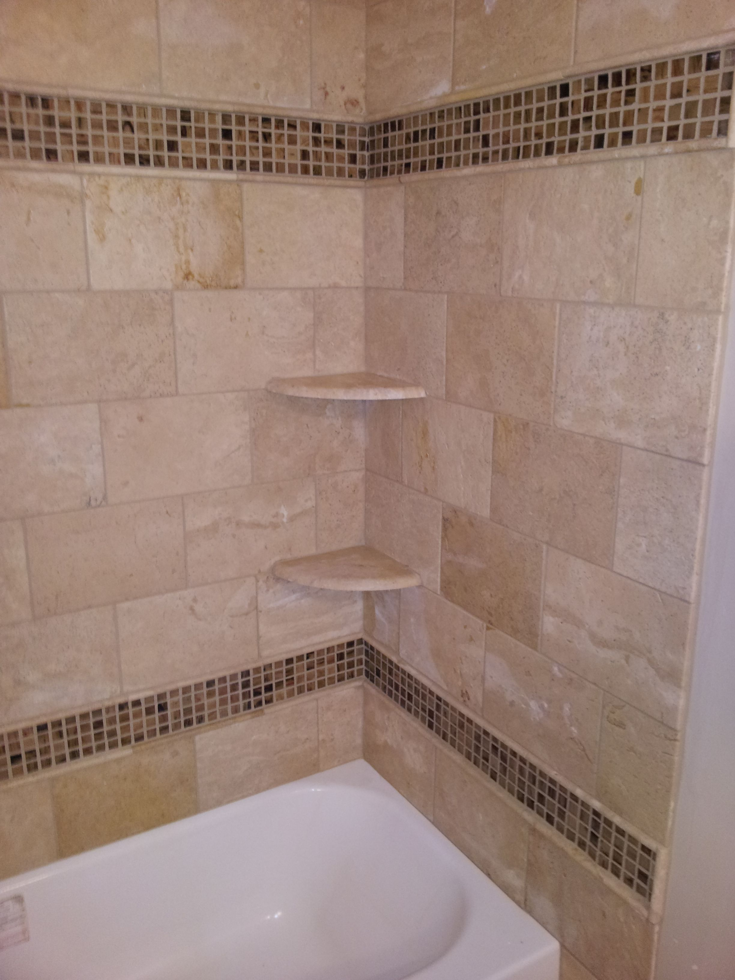 Nice Tub Surround Tile Pattern Gallery - Bathtubs For Small ...