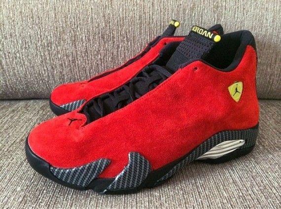 005f3e5668351b ferrari jordan xiv 02 570x424 Air Jordan 14 Retro Ferrari