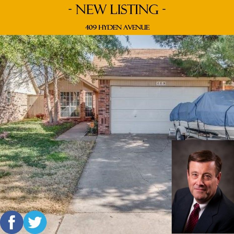 Check out this #Century21 listing! http://c21johnwalton.com/listing?address=409-Hyden-Avenue-Lubbock-TX-79416&mlsno=201601375&info=info&idx=1433647510 #Realtor #RealEstate #HomesForSale #Lubbock