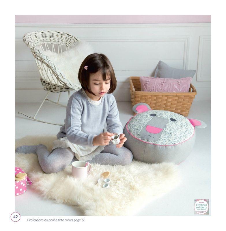 cr ations en liberty pour enfants livre fikou mikou. Black Bedroom Furniture Sets. Home Design Ideas