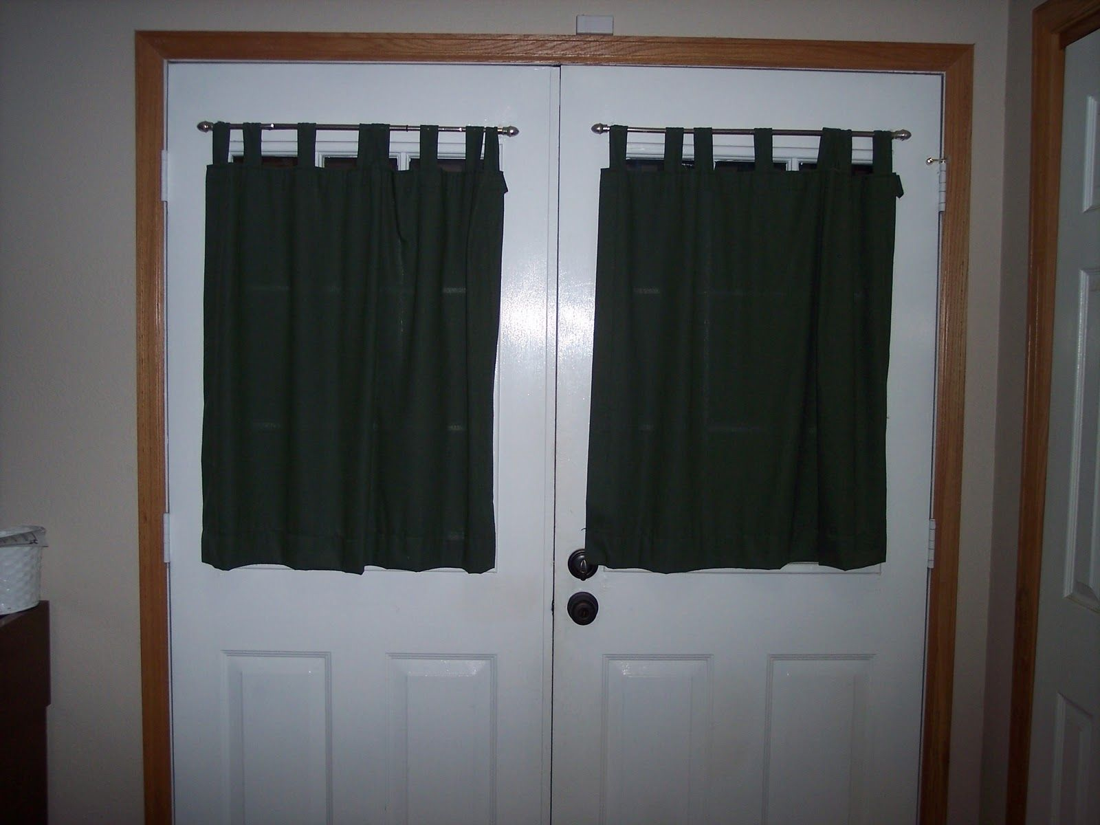 Small Curtain For Front Door Window Idei