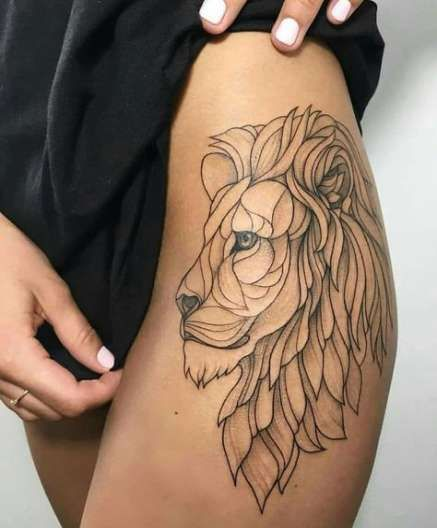 Photo of 18+ Ideas Tattoo Leg Lion Beautiful For 2019