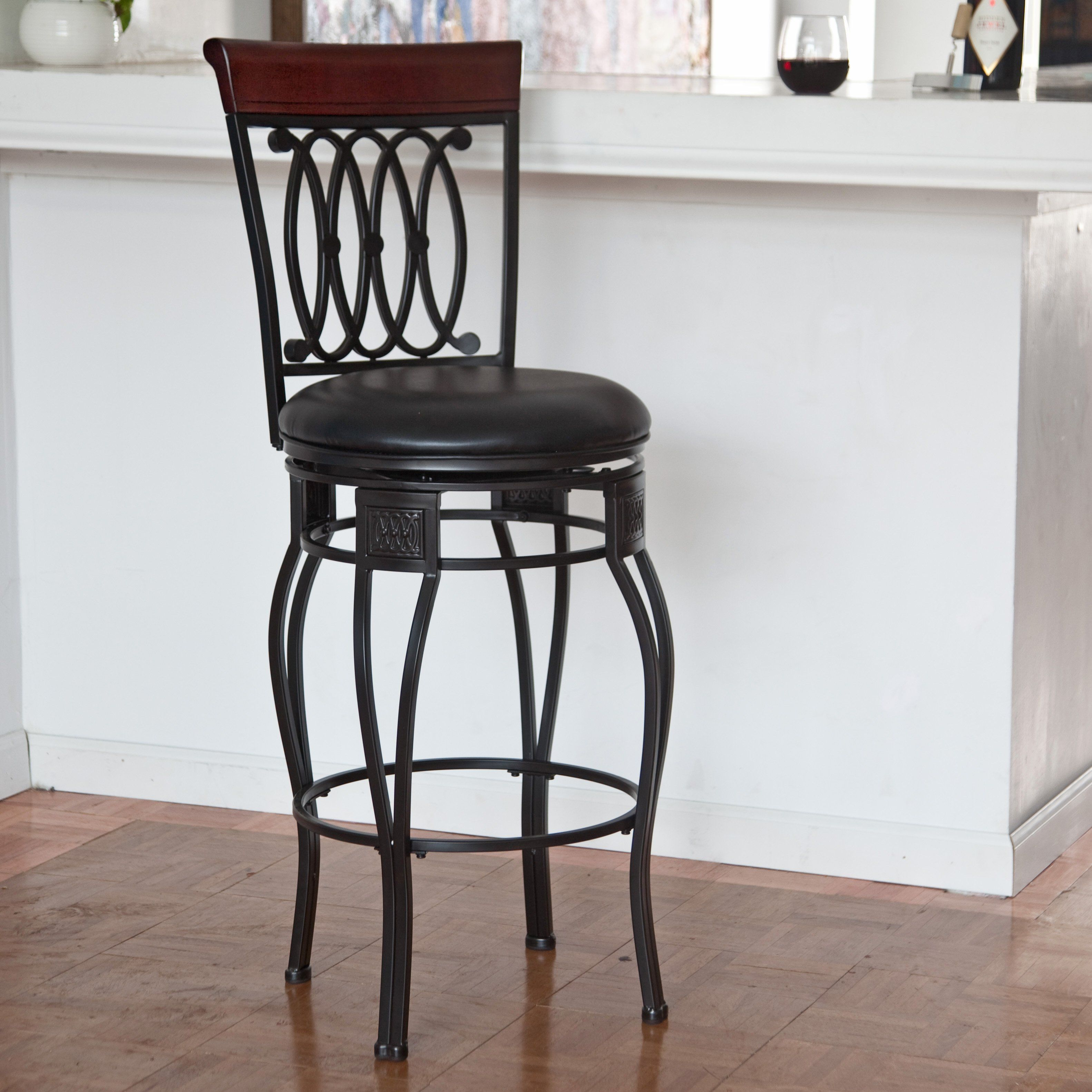 Have To Have It Hillsdale Montello 25 In Swivel Counter Stool