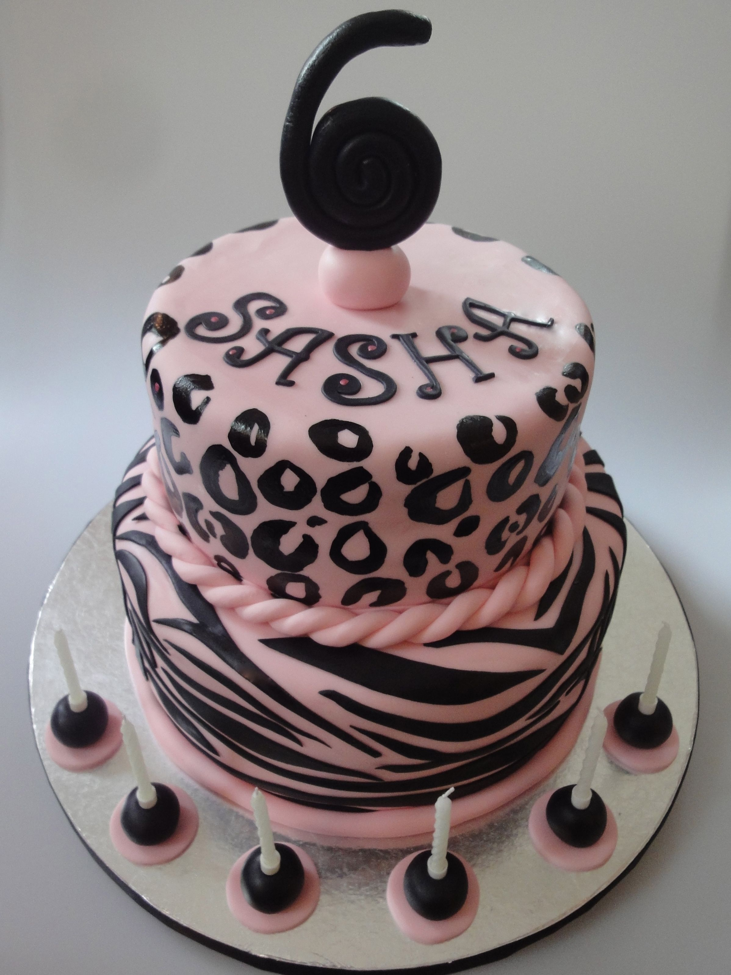 Animal Print Cake Itty Bitty Bakery NYC Pinterest