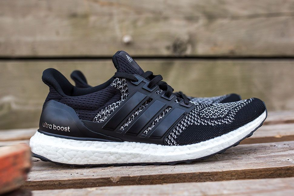 The LTD edition of the adidas Ultra Boost recently dropped in a silver  colorway. Next up for the silhouette is a black colorway with white  reflective st