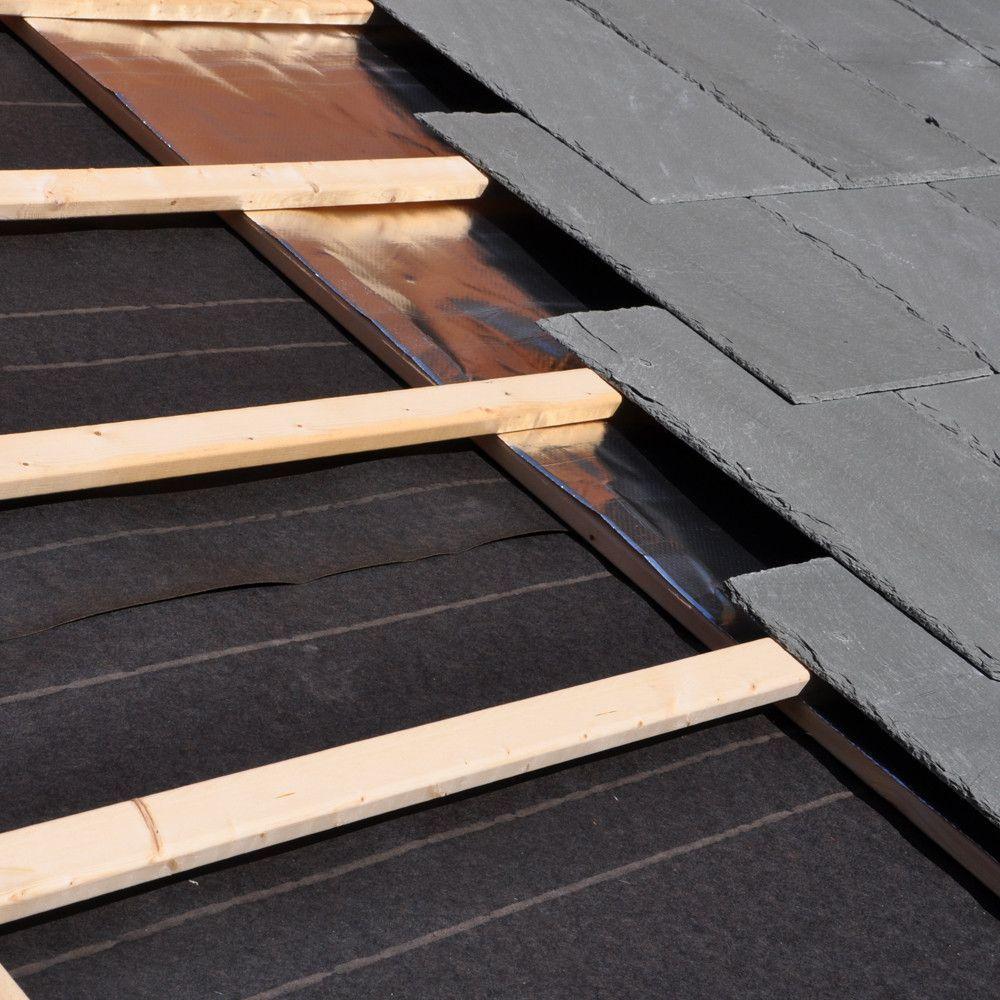 Ultima Foil Radiant Barrier 500 Sf Vapor Barrier Radiant Barrier Radiant Barrier Insulation Roof Repair Diy