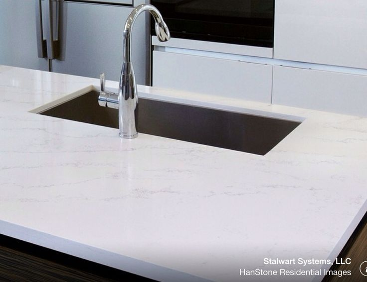 Merveilleux Photos Of Hanstone Quartz In Kitchens | Hanstone Tranquility Kitchen  Countertops, Quartz Countertops, Kitchen