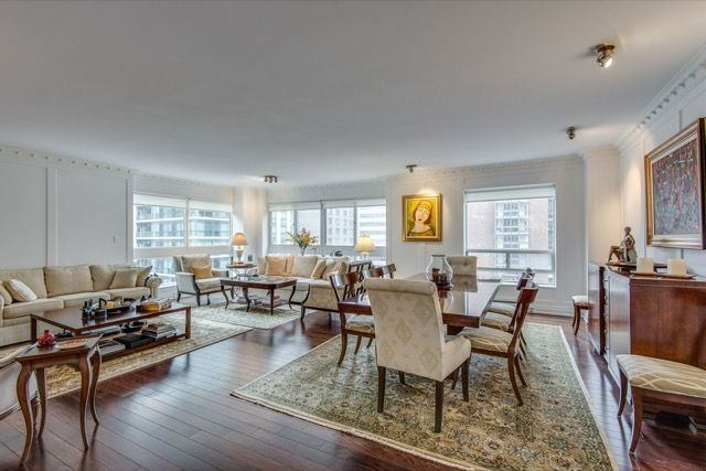 1132 Bay St Suite 701 Yorkville Toronto Condos Living Dining Room ...