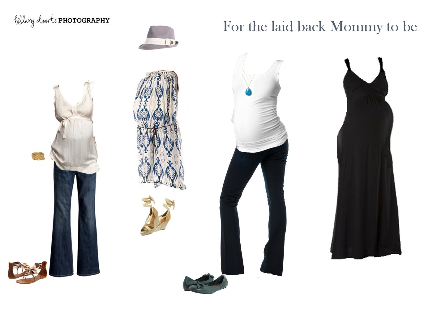 Outfit ideas for your maternity photo session
