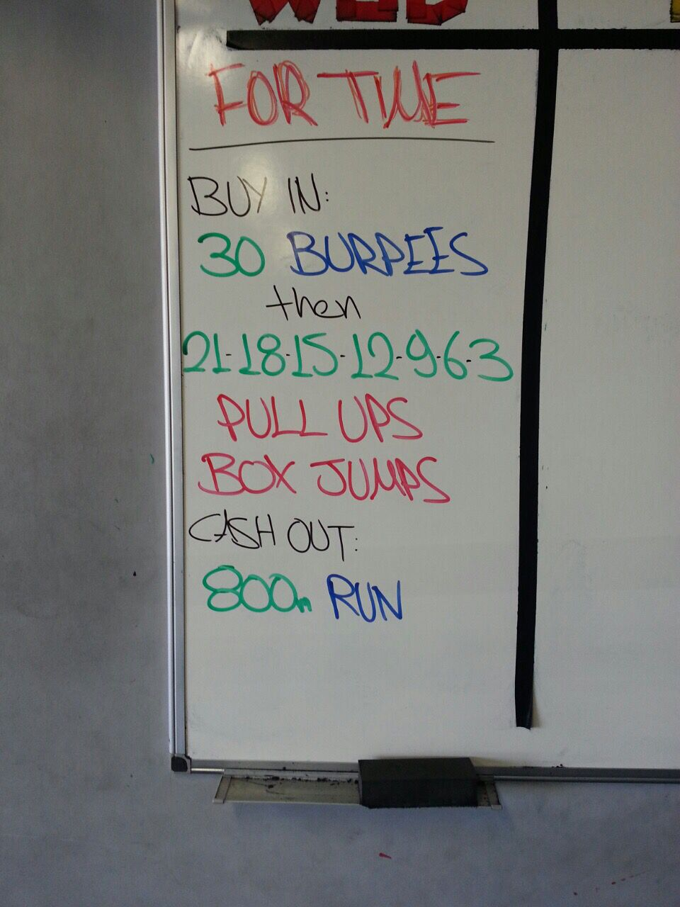 Friday  Crossfit workouts  Pinterest  Crossfit Workout and