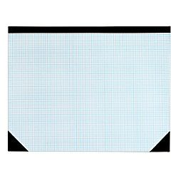 Tops Quadrille Ruled Desk Pad 22 X 17 White By Office Depot Desk Pad Quadrille Makerspace