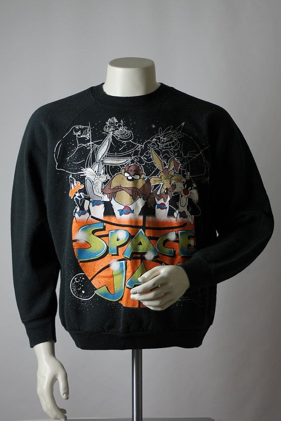 abd7a42c5424ee ... Space Jam Sweatshirt MedLarge Extremely by KeyAcquisitions ...