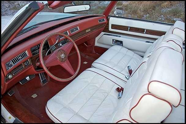1976 Cadillac Eldorado Convertible Bicentennial Edition Seat Piping Cadillac Pinterest