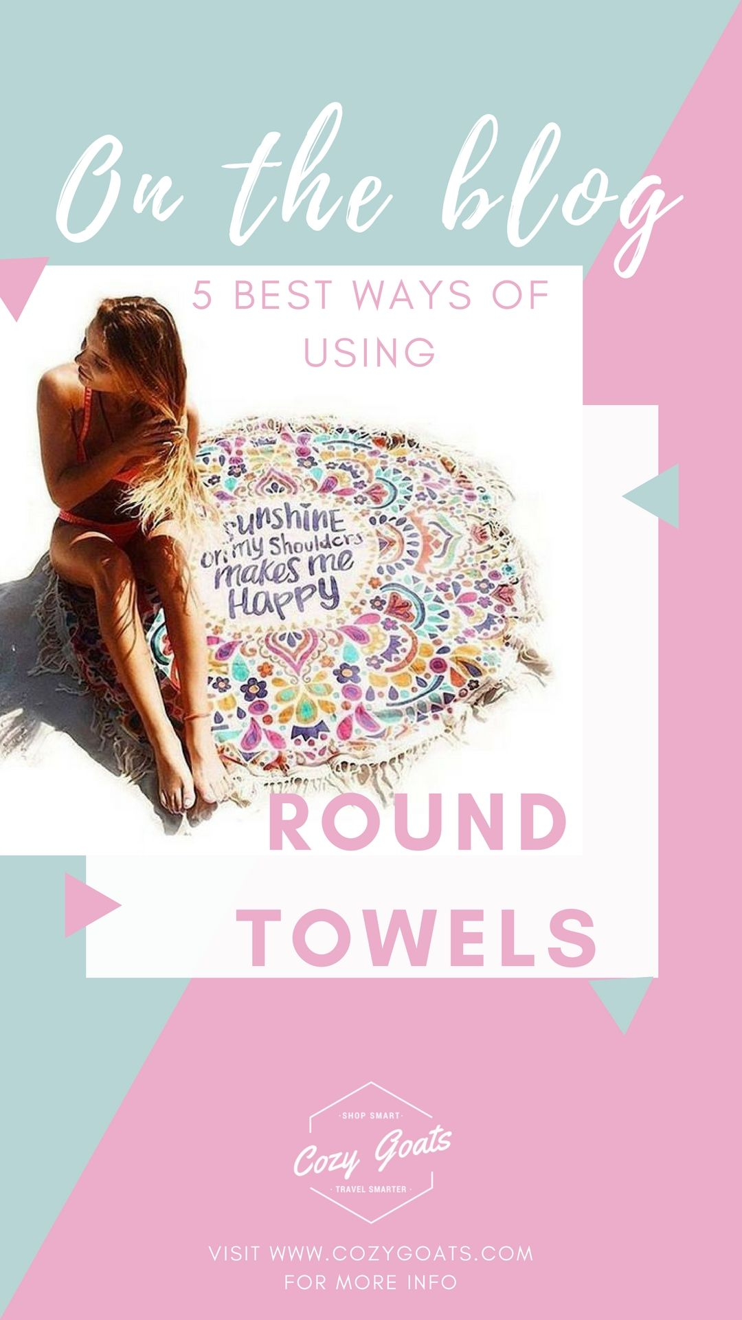 5 Best Ways Of Using Large Round Beach Towels Plain Towels
