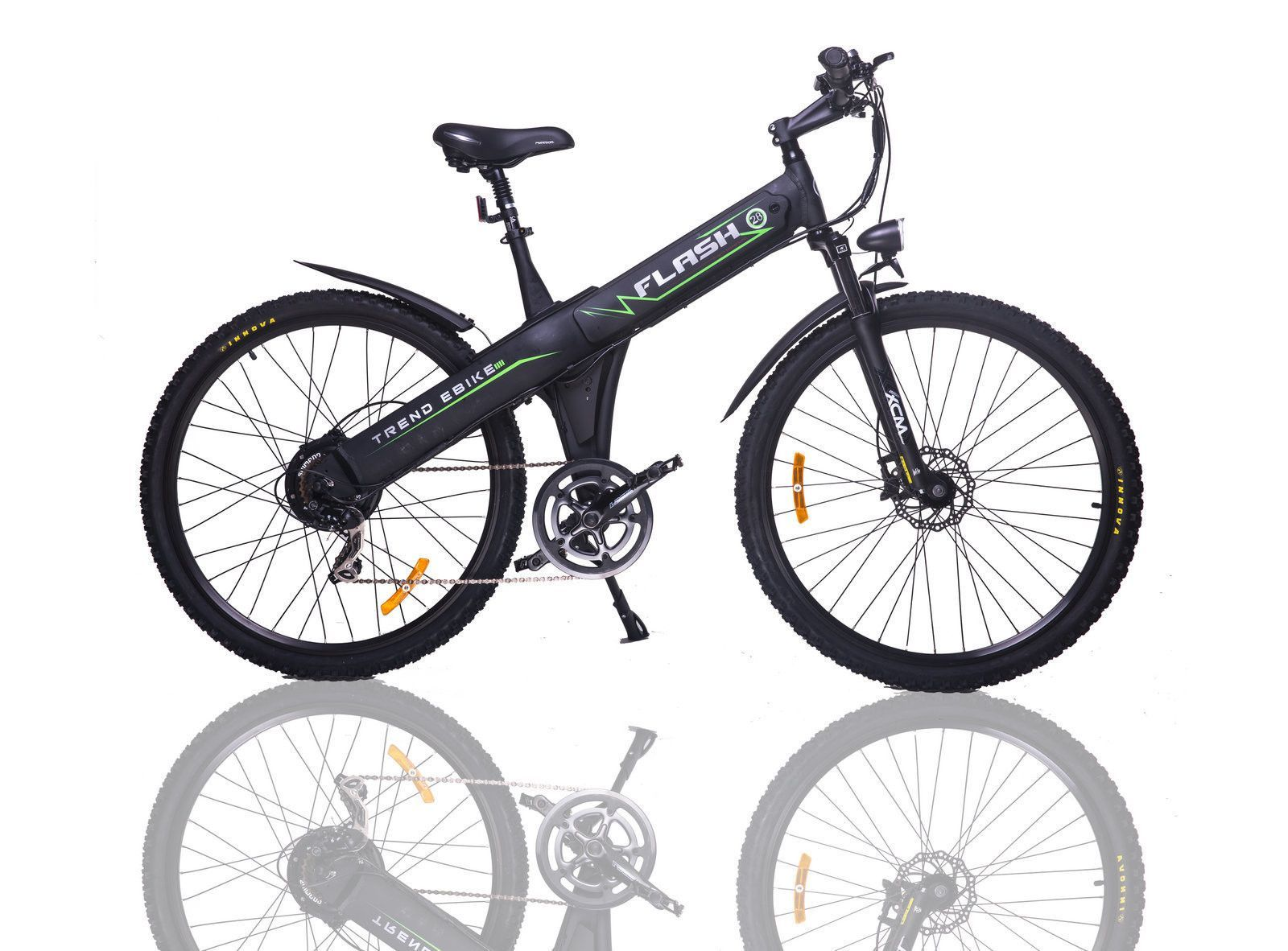 E Go Flash 28 500w Electric Bicycle Black Electric Bicycle