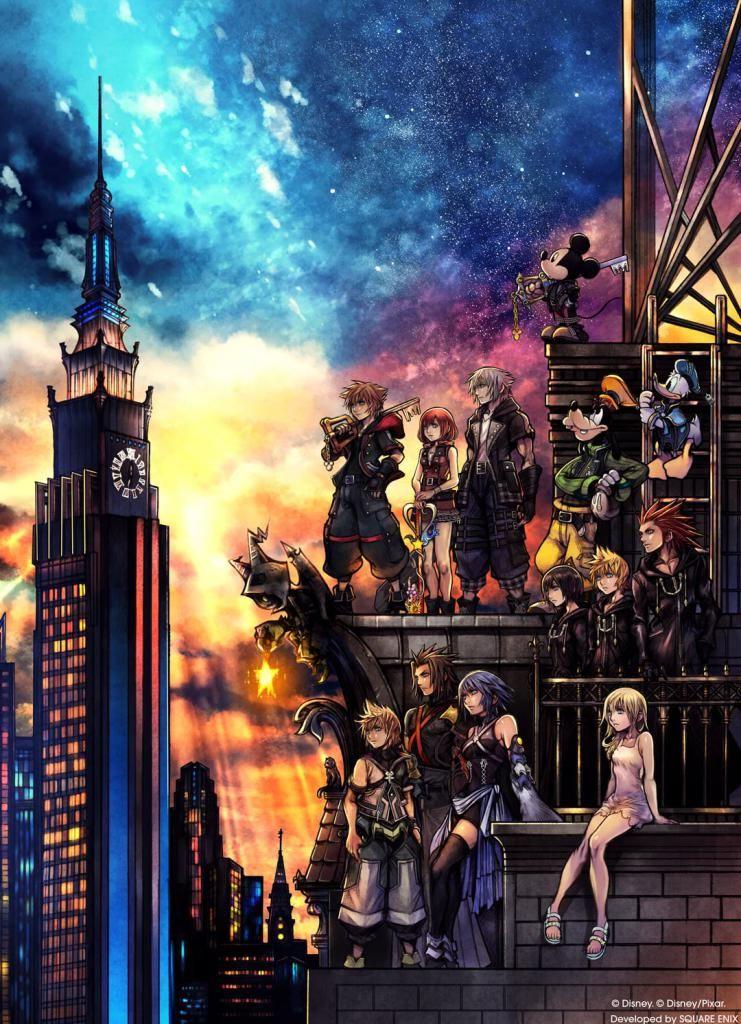 Kingdom Hearts Phone Wallpaper 4k