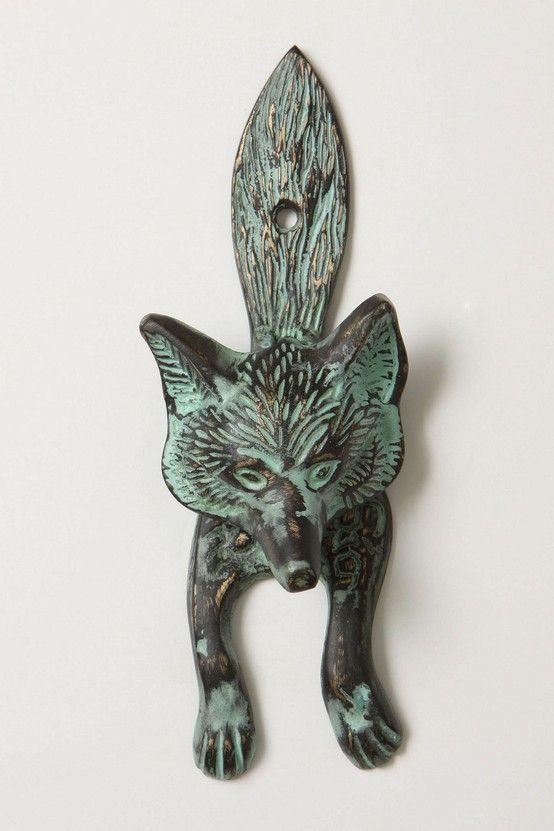 foxy doorknocker. by annabelle