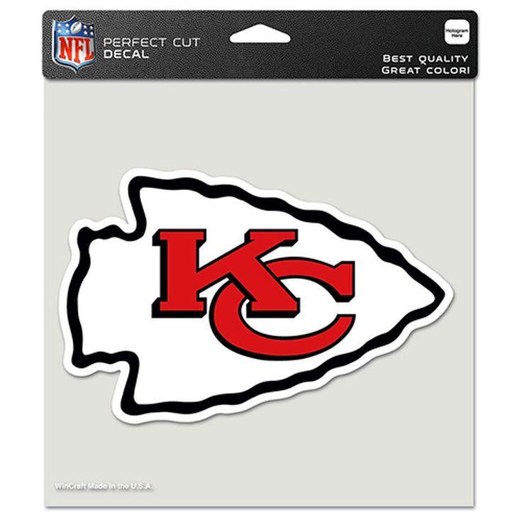 Kansas City Chiefs WinCraft 8'' x 8'' Color Car Decal - $8.99