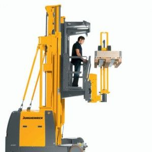 Ekx 513 515k Jungheinrich Electric Turret Truck The Ekx Has An Important Advantage Both Its Travel And Lift Speeds Adapt To Various Application Conditions Ev