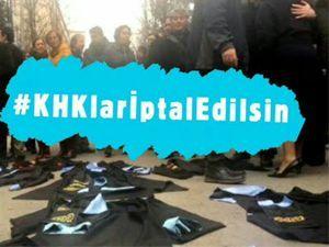 Twitter'da KHK tepkisi: #KHKleriptaledilsin