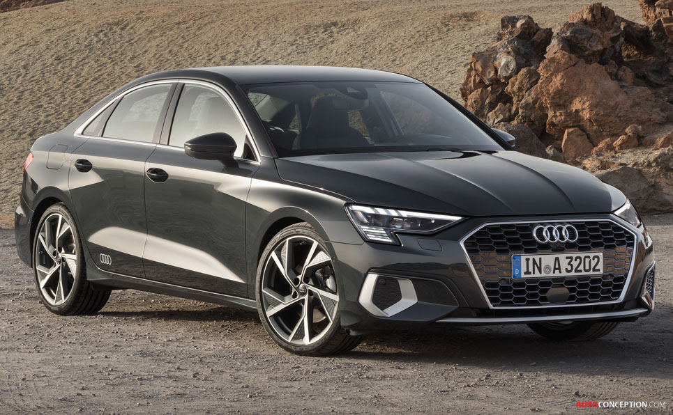 New Audi A3 Saloon Revealed Autoconception Com In 2020 Audi Sedan Audi A3 Sedan Audi