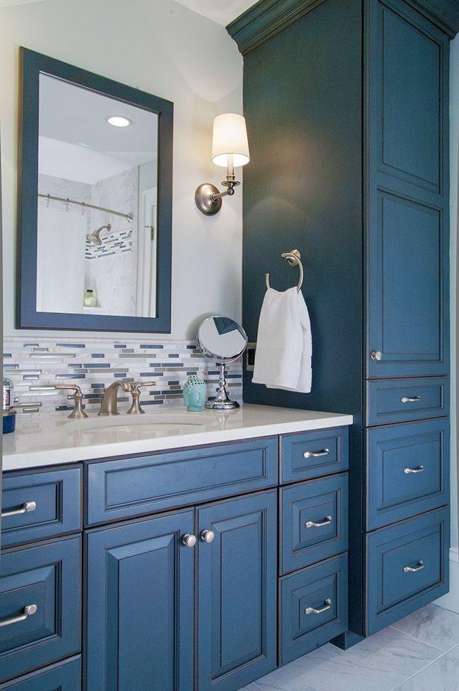 Best Photo Gallery Websites Cute idea for backsplash could echo in shower inset Bath Renovation Vanity Armoire Philadelphia