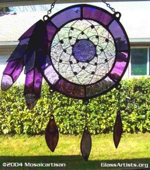Sundream Collection of Stained Glass Dreamcatchers