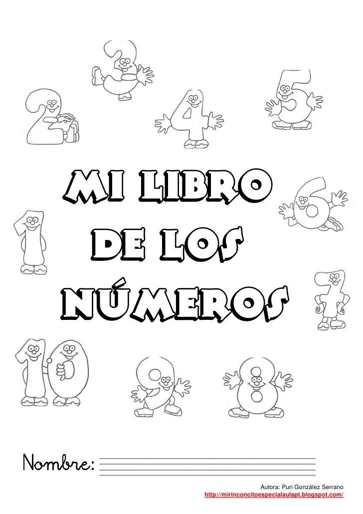 Mi Libro De Numeros Del 1 Al 100 Math Education Preschool
